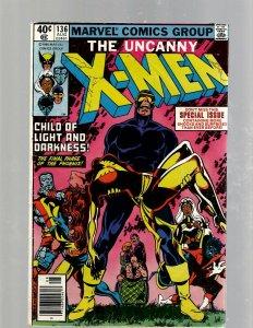 (Uncanny) X-Men # 136 FN Marvel Comic Book Beast Angel Cyclops Magneto SM19