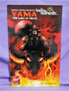 India Authentic #7 Deepak Chopra YAMA The Lord of Death (Virgin, 2007)!
