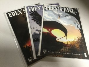 Eden's Fall 1 2 3 Nm Near Mint Cover B Lot Top Cow