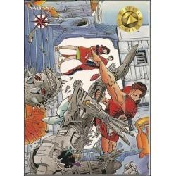 1993 Valiant Era MAGNUS ROBOT FIGHTER #16 - Card #17