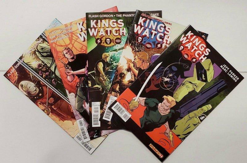 *King's Watch (2013; of 5) 1-5 Flash Gordon