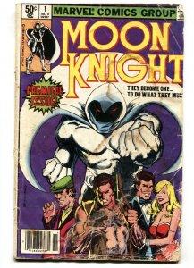 MOON KNIGHT #1 1st issue 1988-MARVEL COMICS