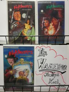 NIGHTMARES ON ELM STREET (1991 IV) 1-3 Freddy lives