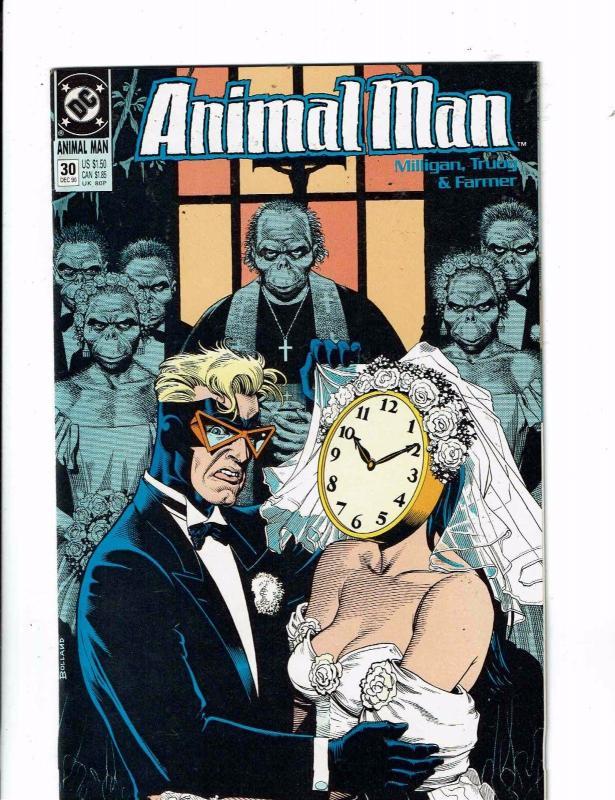 Animal Man #26 FN 1990 Stock Image