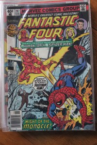 FANTASTIC FOUR #207 (Marvel,1979) Condition FN