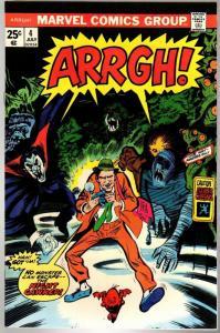 ARRGH! (1974) 4 F-VF  July 1975