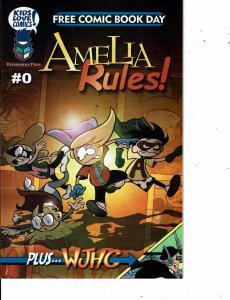 Lot Of 3 Comic Books Amerlia Rules #0 1 and Dark Horse American #1 MS12