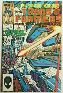 TRANSFORMERS#4 VF/NM 1984 MARVEL COMICS