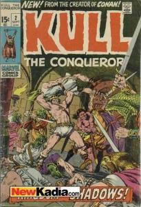 Kull the Conqueror (1971 series) #2, Fine- (Stock photo)