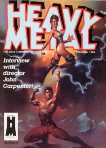 Heavy Metal #105 VF/NM; Metal Mammoth   save on shipping - details inside