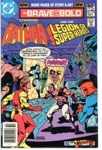 Brave & The Bold 179  F  Batman & Legion of Super-Heroes