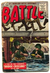 Battle #44 1956- Atlas War-File copy- low grade poor