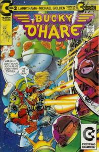 Bucky O'Hare #2 VF/NM; Continuity   save on shipping - details inside