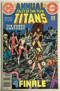 TEEN TITANS ANNUAL#2 FN/VF 1983 DC COMICS