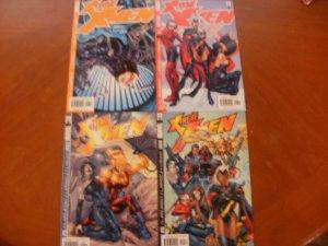 4 MARVEL Comic X-TREME X-MEN #6 #7 #9 #10 (2001) Claremont Larroca Liquid
