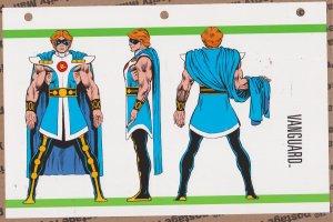 Official Handbook of the Marvel Universe Sheet - Vanguard