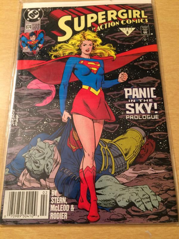 Superman in Action Comics #674