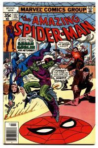 AMAZING SPIDER-MAN #177 comic book-MARVEL COMICS-GREEN GOBLIN-nm-