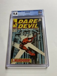 Daredevil 44 Cgc 9.4 Ow Pages Marvel Bronze Age
