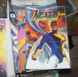 Next Nexus # 1 + NEXUS THE ORIGIN 1+ EXECUTIONERS SONG 3  First Comics