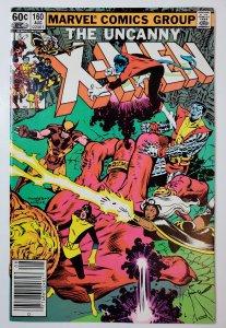 Uncanny X-Men 160 Newstand
