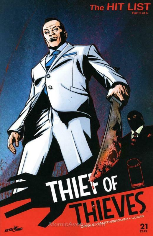 Thief of Thieves #21 VF/NM; Image | save on shipping - details inside