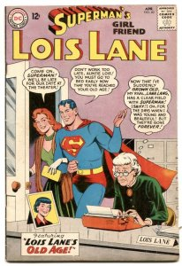 Superman's Girl Friend Lois Lane #40 1963- Old Age cover