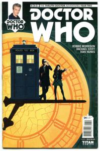 DOCTOR WHO #4 A, NM, 12th, Tardis, 2016, Titan, 1st, more DW in store, Sci-fi