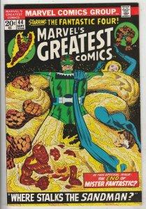 Marvel's Greatest Comics #44 (Sep-73) NM- High-Grade Fantastic Four, Mr. Fant...
