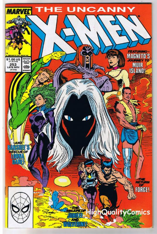 X-MEN #253, NM-, Wolverine, Chris Claremont, Uncanny, more in store