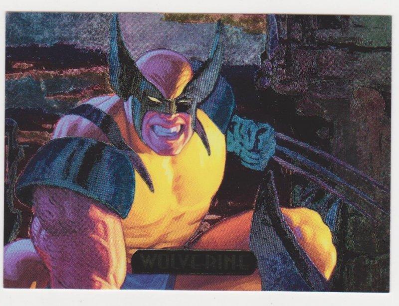 1994 Marvel Masterpieces Power Blast #9 Wolverine