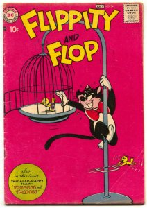 Flippity and Flop #34 1957- DC Funny Animals VG