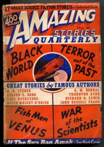 Amazing Stories Quarterly Pulp Fall 1940- Fish Men of Venus