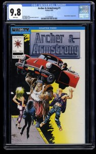Archer & Armstrong #1 CGC NM/M 9.8 White