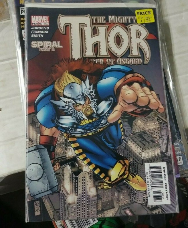 MIGHTY THOR # 67( 569)  2003  MARVEL   US GOVERNMENT VS ASGARD