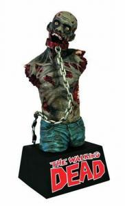 Walking Dead Michonne's Pet Zombie Bust Bank Piggy Bank (Diamond Select) - New!