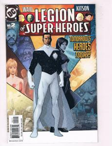 Legion Of Superheroes #2 FN DC Comics Comic Book Mar 2005 DE37 TW7