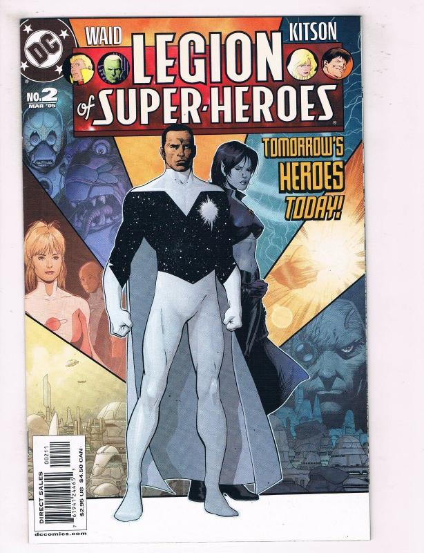 Legion Of Superheroes #2 FN DC Comics Comic Book Mar 2005 DE37 TW7