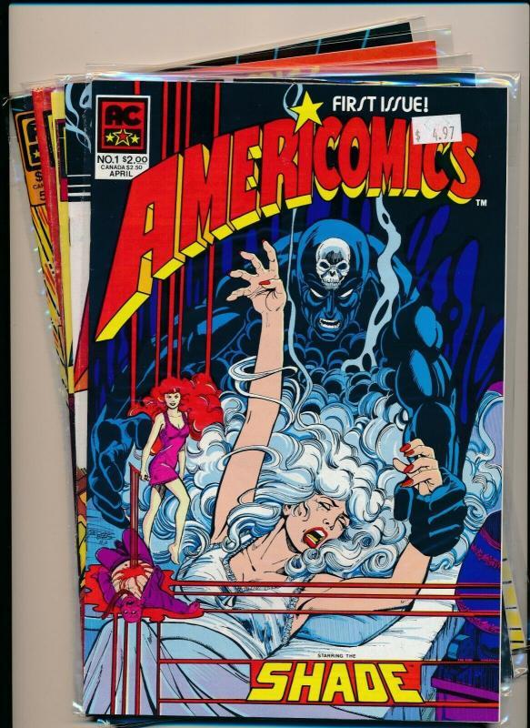 AC Set of 5-AMERICOMICS #1-5 1983 FINE/VERY FINE  (PF586)