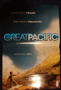GREAT PACIFIC  Promo Poster, 12 x 18, 2012, IMAGE Unused more in our store 427