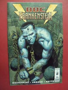 DOC FRANKENSTEIN #3  (VF/NM 9.0 OR BETTER) BURLYMAN ENTERTAINMENT
