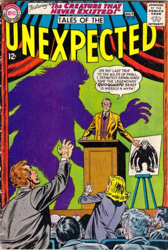 Tales of the Unexpected #89 (Jul-65) VG/FN Mid-Grade