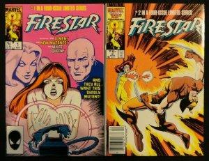Firestar #1-4 Complete Limited Series FN/VF+ X-Men, New Mutants 1 2 3 4