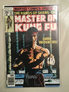 Signed Master of Kung Fu #67 With COA From Mike Zeck's Personal Collection!