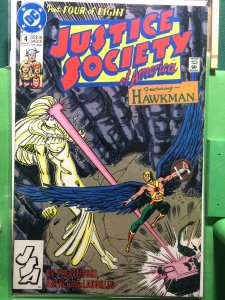 Justice Society of America #4 of 8 1991 series