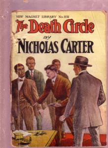 NEW MAGNET LIBRARY-#1151-DEATH CIRCLE-NICK CARTER FR