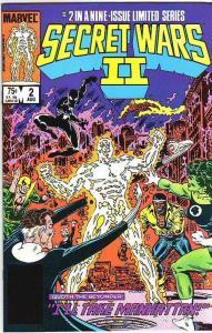 Secret Wars II #2 (Aug-85) NM+ Super-High-Grade