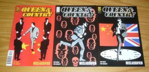 Queen & Country: Declassified vol. 2 #1-3 VF/NM complete series GREG RUCKA oni