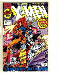 10 Comics Uncanny X-Men # 281 283 284 285 287 288 289 290 292 293 RP1
