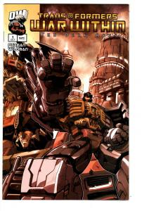 2 Transformers War Within The Dark Ages Dreamwave Comic Books # 1 4 BH26